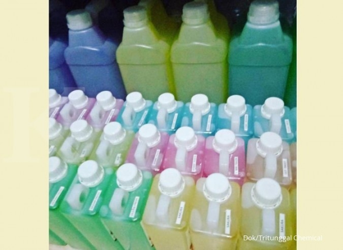 Menakar wangi gerai bahan baku laundry