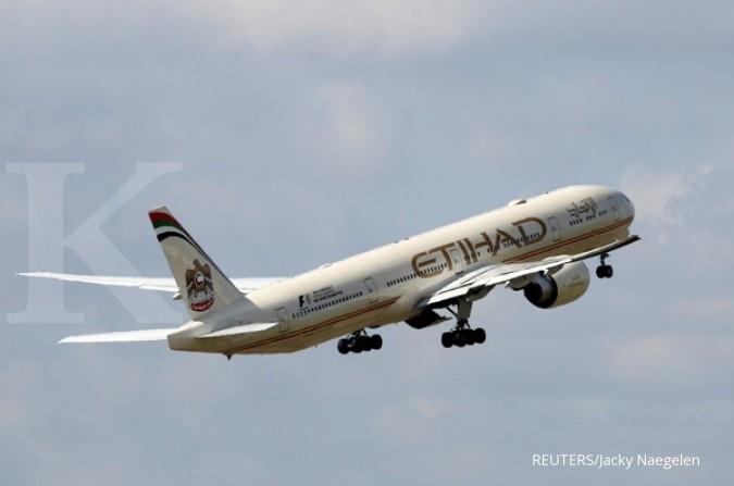 Etihad, Emirates setop penerbangan ke Qatar