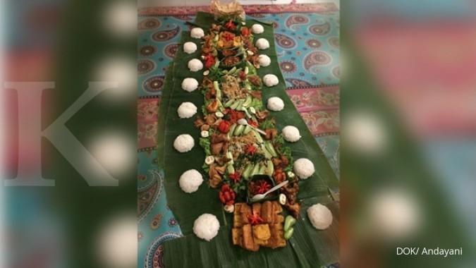 Bisnis nasi liwet kekinian melesat saat puasa (1)