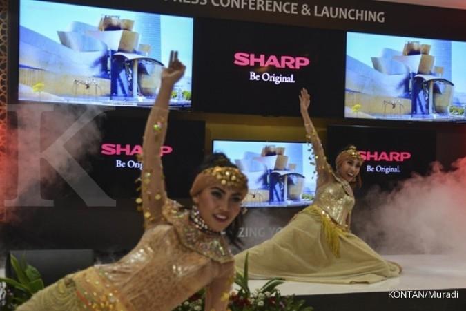 Penjualan Sharp naik 15% di kuartal II 2017