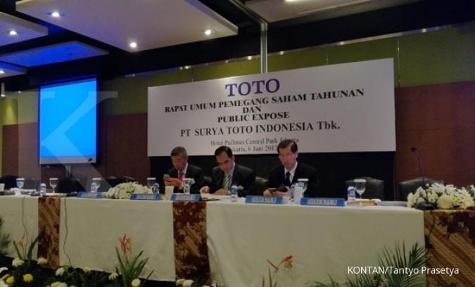 TOTO Dividen Surya Toto akan dibayar pada 5 Juli 2018