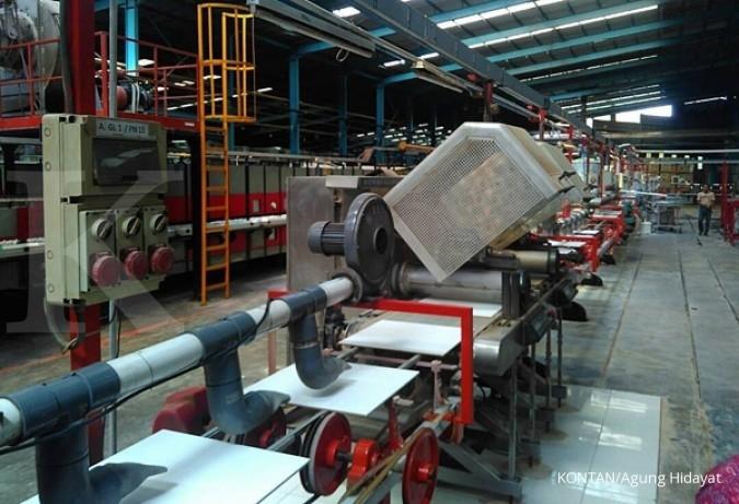 Industri keramik lokal kian terimpit impor China