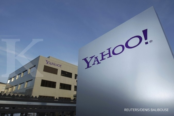 Yahoo Japan (Jepang) yang berada di bawah kendali SoftBank tengah melakukan penjajakan merger dengan Line. REUTERS/Denis Balibouse/Files (SWITZERLAND - Tags: BUSINESS POLITICS LOGO)