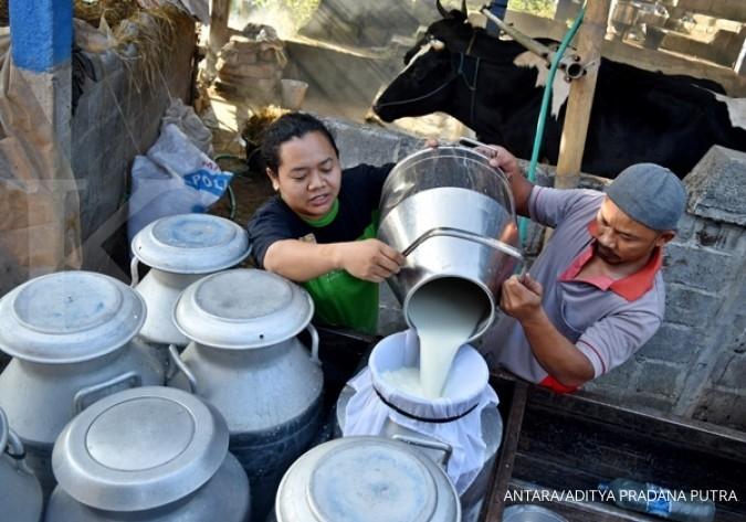 Konsumsi susu Indonesia masih rendah