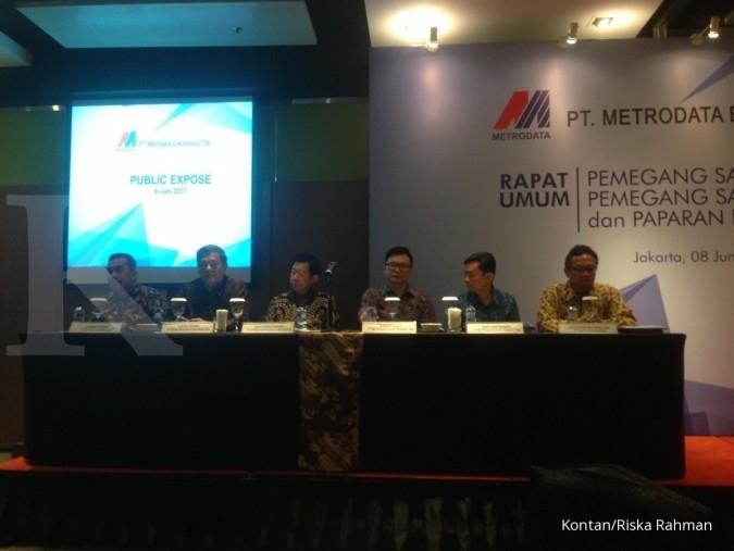 MTDL Metrodata siapkan belanja modal Rp 190 miliar pada 2018
