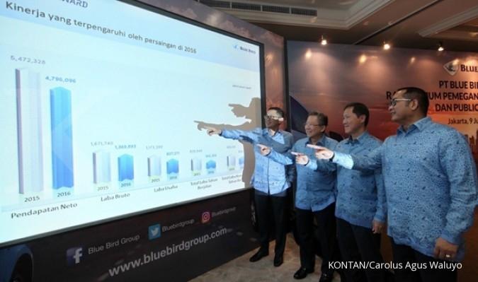 Kontribusi logistik ke Blue Bird Group baru 10%
