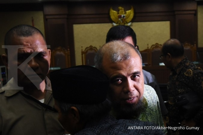 Curhatan Patrialis Akbar soal OTT KPK
