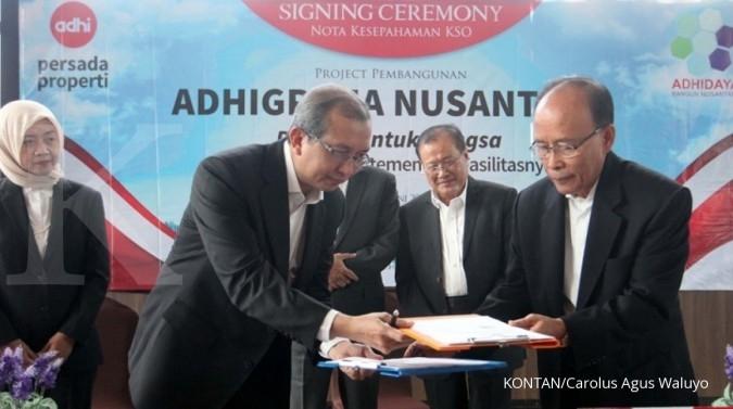Adhi Persada garap proyek hunian 300.000 unit
