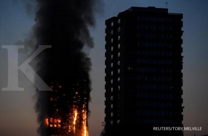 Penghuni muslim, alarm kebakaran Grenfell Tower