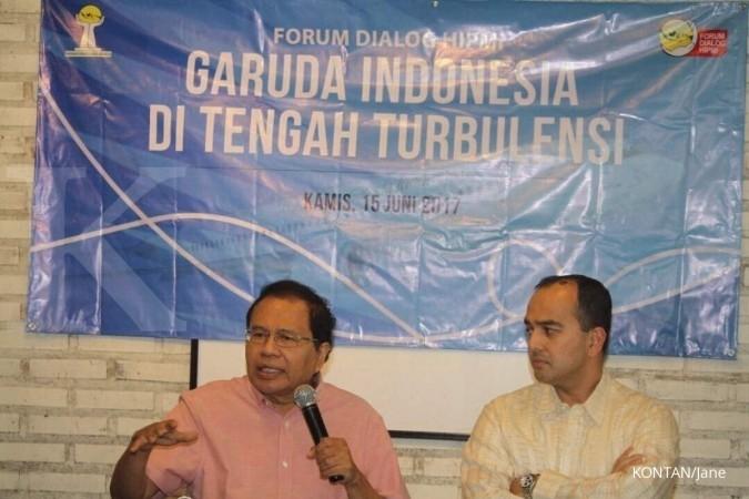 Tudingan Rizal Ramli soal kongkalingkong Garuda