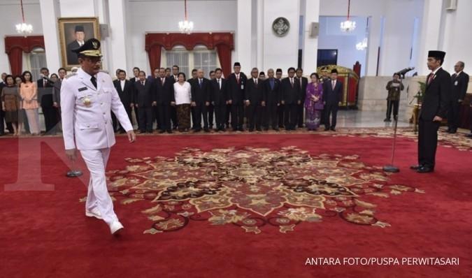 Jokowi lantik Djarot sebagai Gubernur DKI Jakarta