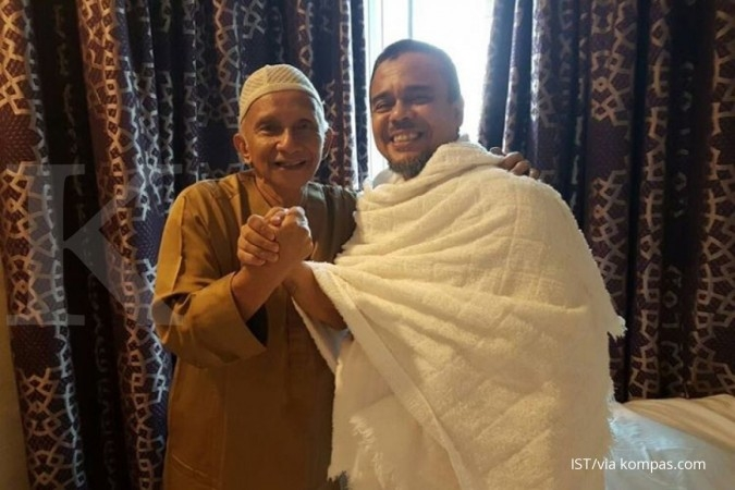 Amien Rais bertemu Rizieq di Arab Saudi