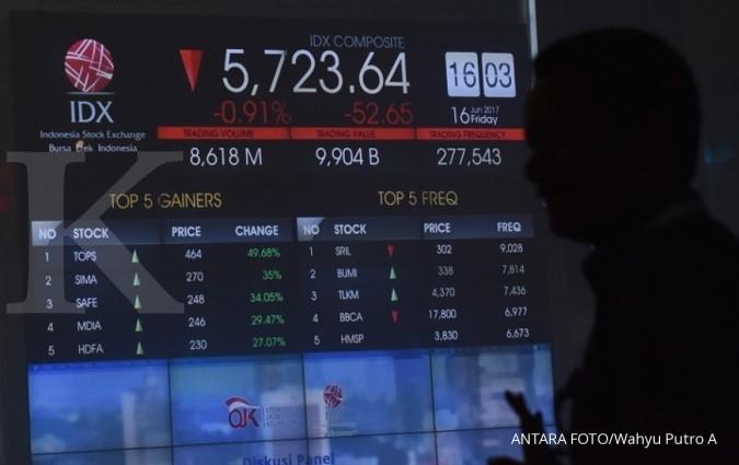 Investor kurang agresif, IHSG bakal terimbas