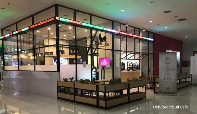 Belajar saham sambil ngopi di Bearxbull Cafe