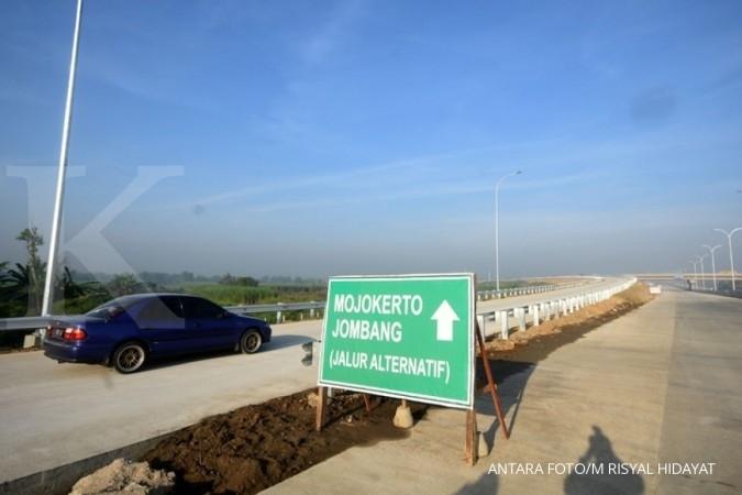 Jalan tol Surabaya-Mojokerto beroperasi penuh