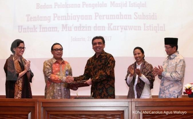 BTN salurkan KPR subsidi bagi pengurus Istiqlal