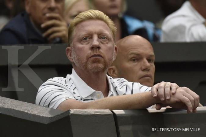 Boris Becker, petenis legendaris Jerman bangkrut