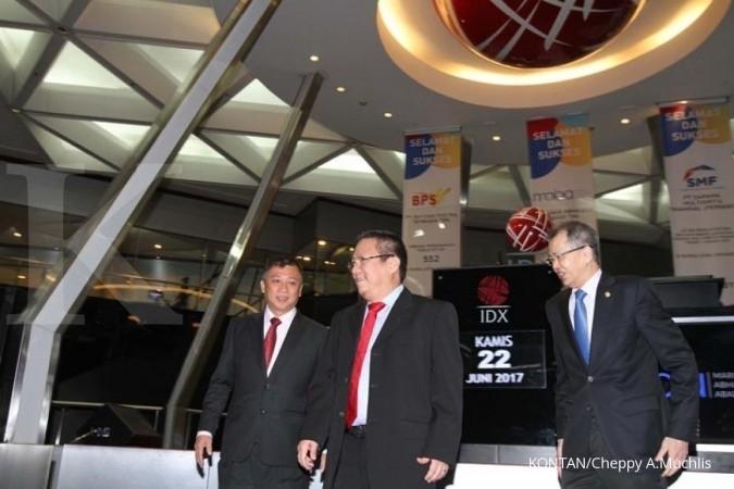 Perdagangan perdana, saham HOKI menguat 10,32%