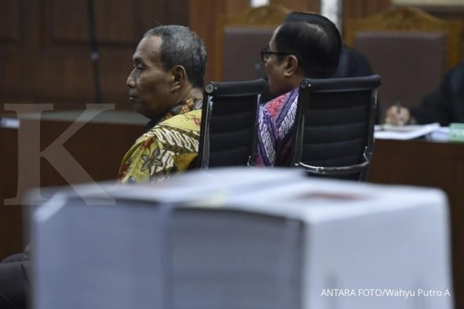 Irman dituntut 7 tahun penjara, Sugiharto 5 tahun