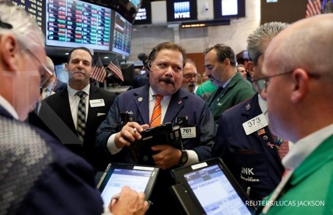 Bursa AS terdorong saham-saham perbankan