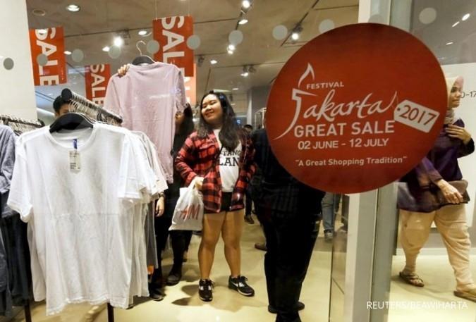 Emiten ritel tak pasang target penjualan khusus di Jakarta Great Sales