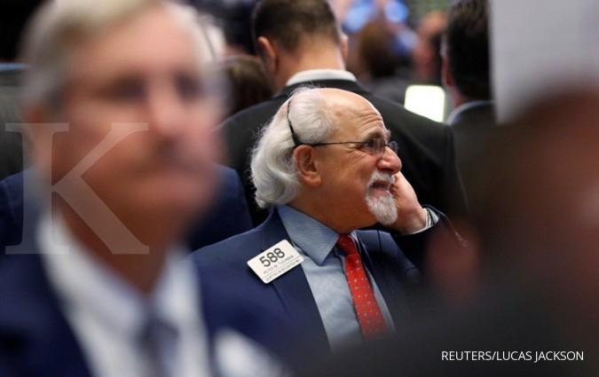 Dow Jones kembali memperbarui rekor