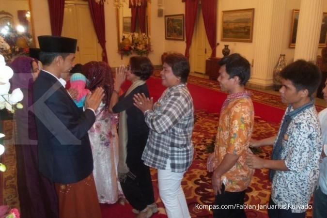 Jokowi pulang ke Solo di Lebaran hari kedua