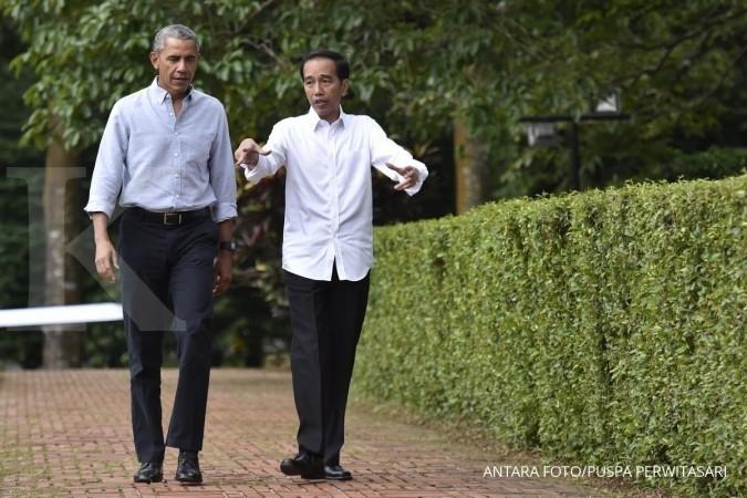 Tak jadi makan siang, Jokowi, Obama hanya ngobrol