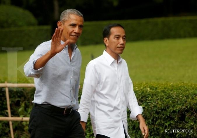 Jokowi tiga kali undang Obama mudik ke Indonesia