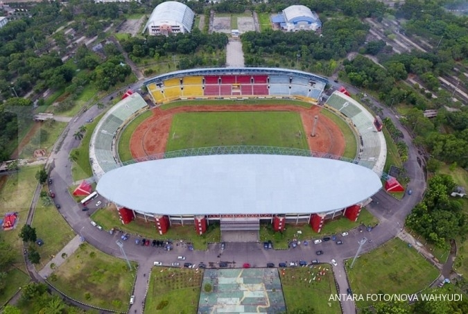 Gelanggang Asian Games rampung akhir tahun ini