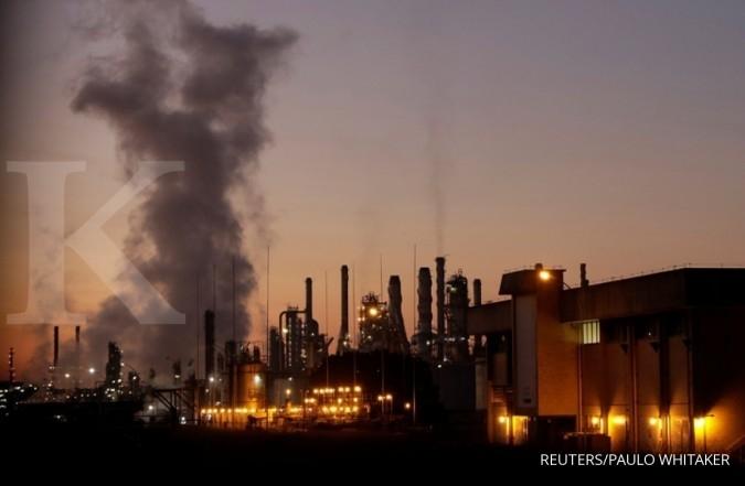 Harga minyak tertekan di bawah US$ 46 sebarel