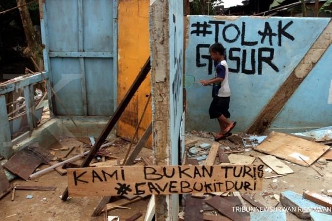 Djarot: Bukit Duri ditertibkan Selasa besok