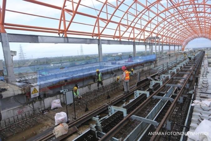 Pemerintah subsidi LRT Palembang Rp 180 miliar