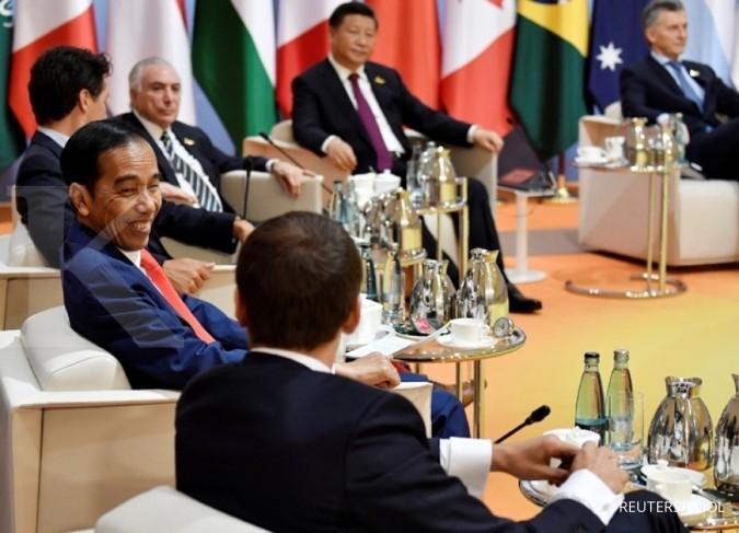 Jokowi dorong anggota G-20 perangi terorisme
