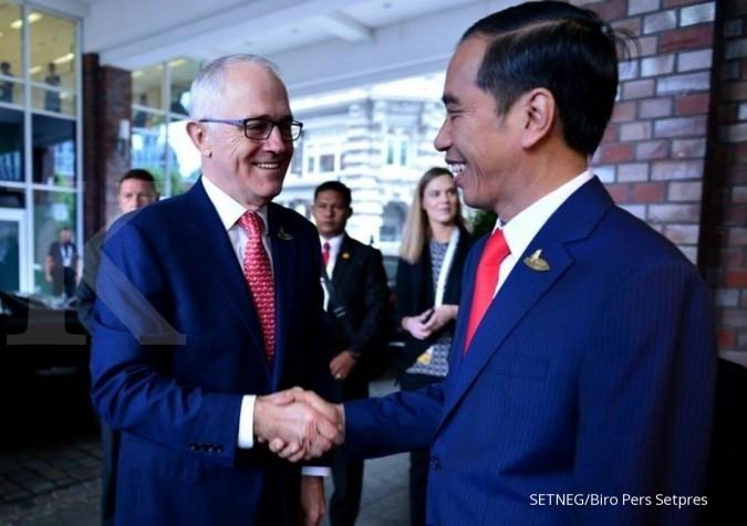 Jokowi-PM Turnbull bahas Rohingya hingga Marawi