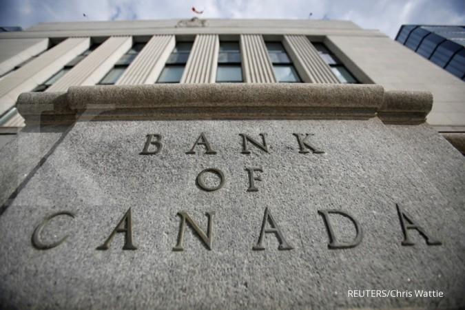 Suku bunga acuan Kanada naik 25 bps
