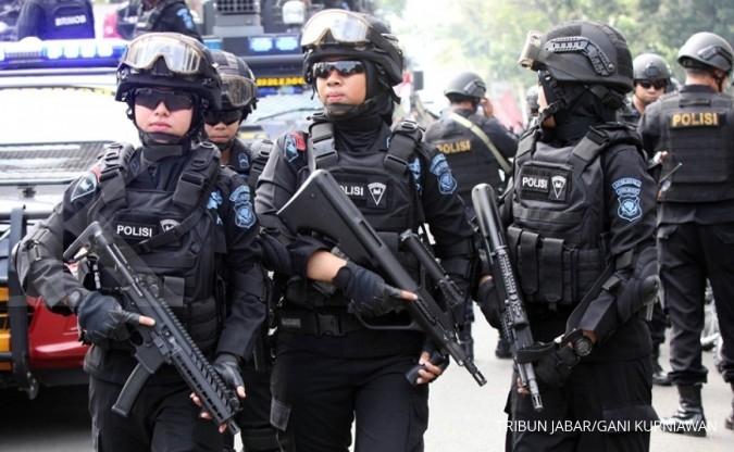 Densus 88 tangkap terduga teroris di Bandung