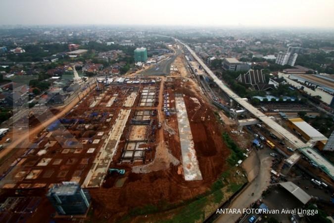 Pembangunan MRT Jakarta fase 1 capai 74,89%