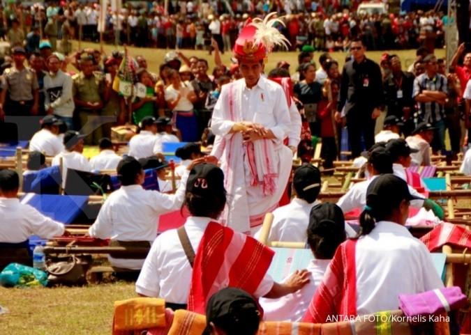 Lewat tulisan, Jokowi ungkap alasan keliling RI