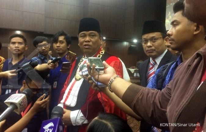 Ketua MK klarifikasi tudingan lobi politik