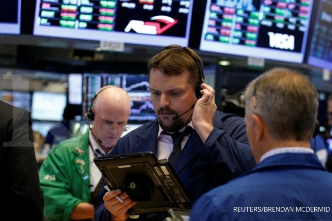 Bursa Wall Street kompak mencetak rekor