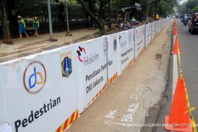 DKI targetkan bangun 80 Km trotoar tahun ini