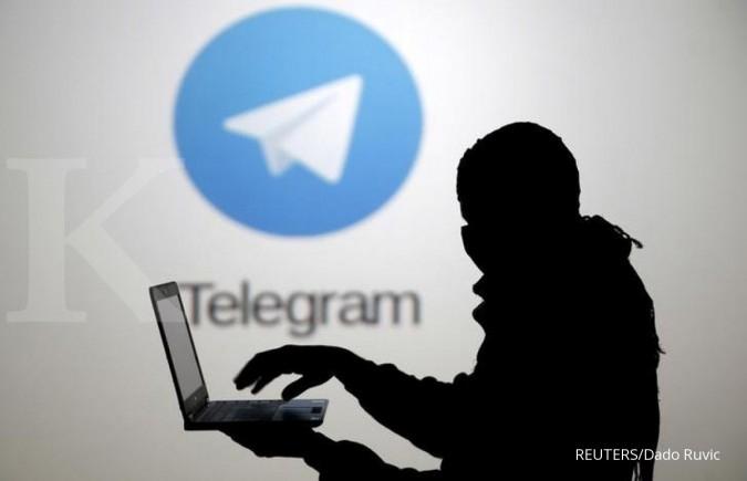 Stiker seks berseliweran di Telegram