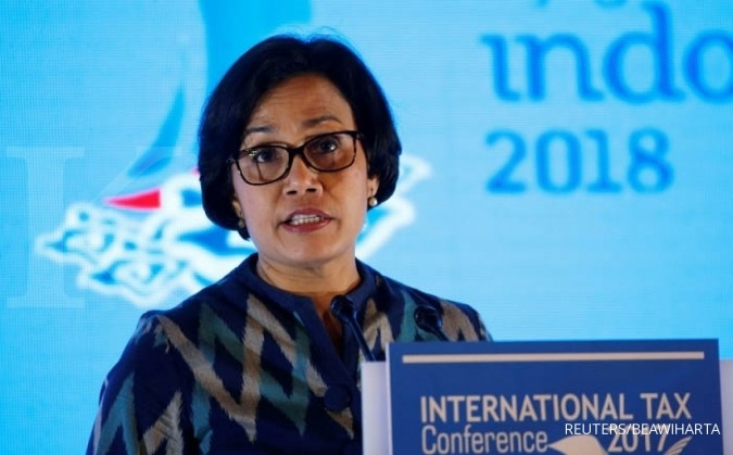 Sri Mulyani teliti komponen tax ratio