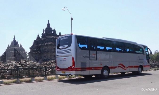 WEHA Bus pariwisata laris untuk mudik