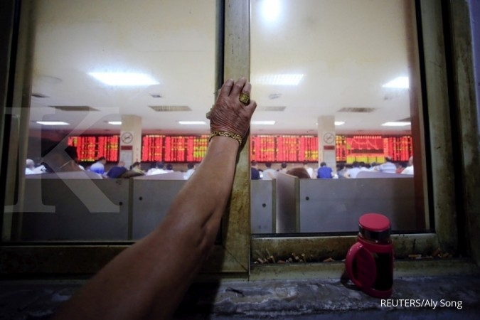 Bursa Asia merunduk pagi ini