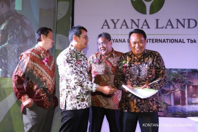 Target harga IPO Ayana Land telah dikorting 30%