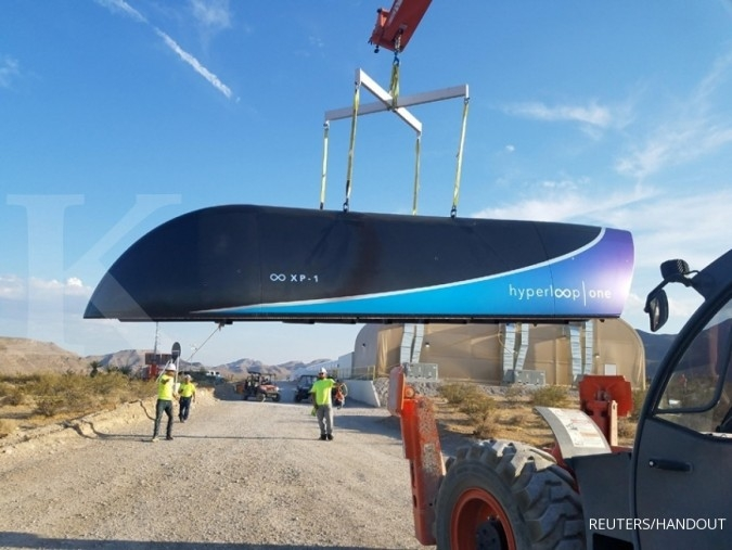 Hyperloop ala miliarder Elon Musk kantongi restu