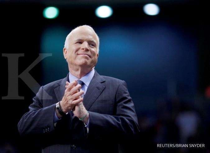Barack Obama semangati McCain hadapi kanker otak