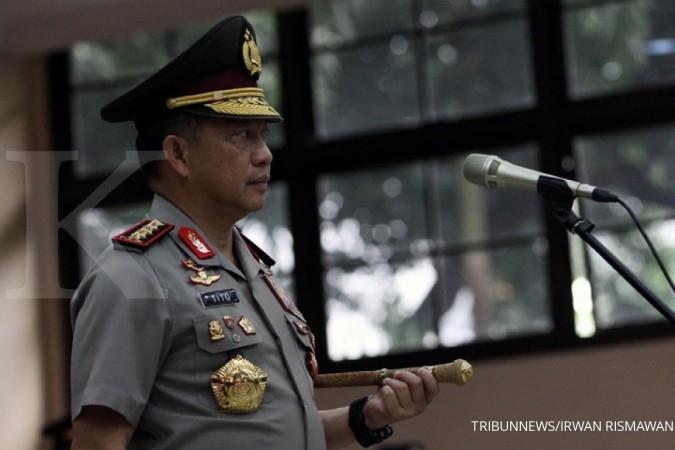Wah, 23 perwira tinggi Polri naik pangkat